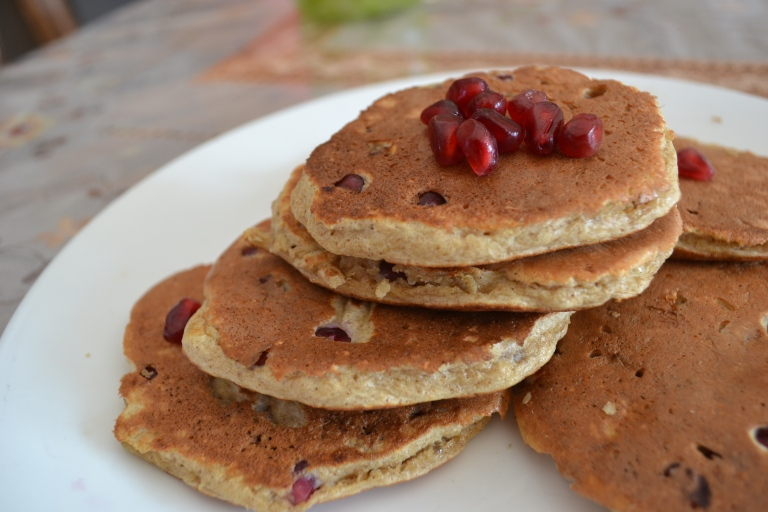 Pomegranate Pancakes